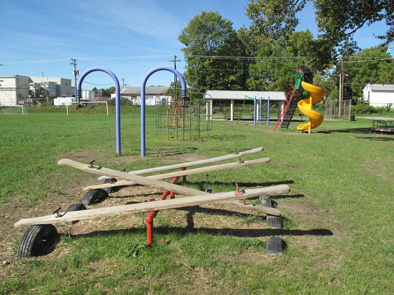 Playground at Bucyrus Harmon Park