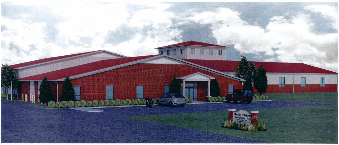 New Bucyrus Water Plant Rendition