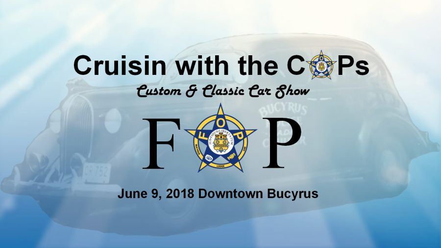 2018 Cruisin with the COPs promotional graphic