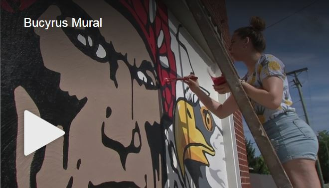 link image to Art Student Mural Project for Community Unity on NBC 4